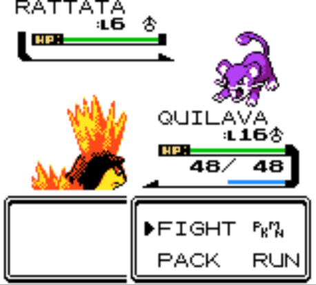 pokemon crystal screen